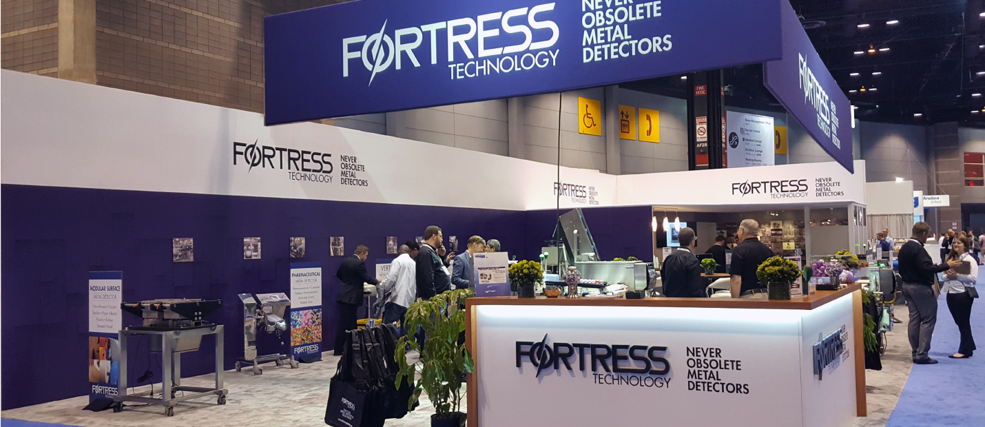 Fortress Technology expo booth
